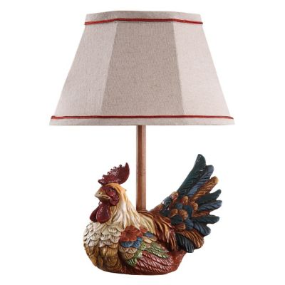 Carlin Rooster Accent Table Lamp