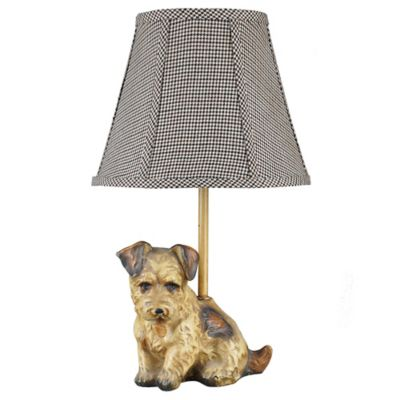 Buddy Terrier Accent Table Lamp