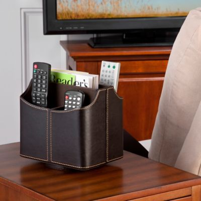 Bedside Spinning Remote Control Organizer