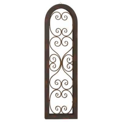 Scroll Gate Wall Panel
