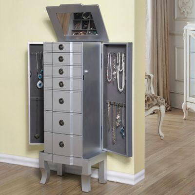 Cassandra 6 Drawer Jewelry Armoire