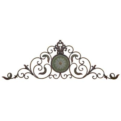 Filigree Metal Grille Wall Decor