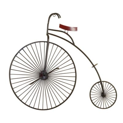 Metal Tricycle Wall Decor