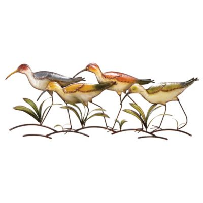 Sand Piper Wall Decor