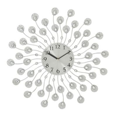 Raindrops Acrylic Wall Clock