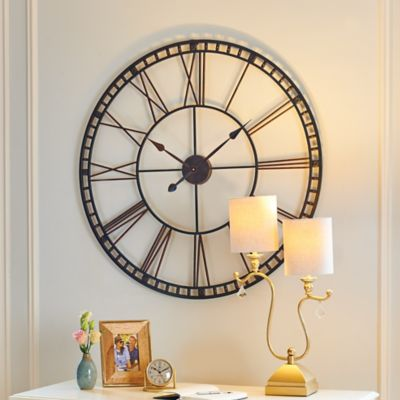 Oversized Tower Wall Clock