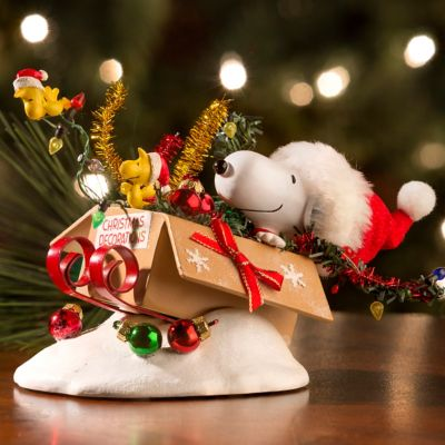 Possible Dreams Peanuts One Bird Open Sleigh Christmas