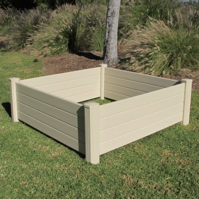 Vinyl Raised Garden Bed