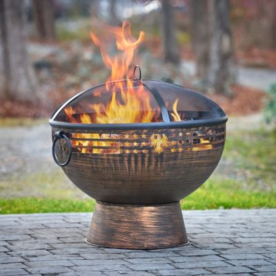 Eagle Fire Pit with Screen