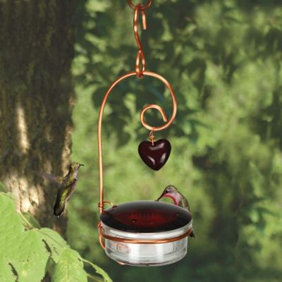 Tweet Heart Hummingbird Feeder
