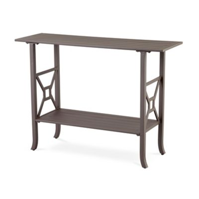Ellicott Metal Console Table