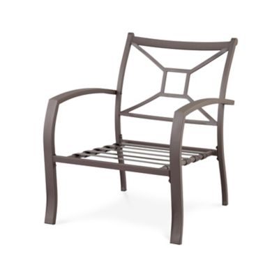 Ellicott Deep Seat Metal Chair