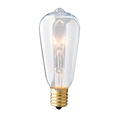 Clear Filament 30-Bulb Edison String Lights