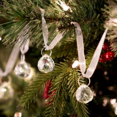 Crystal Ornament Swag Christmas Decoration