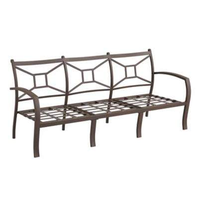 Ellicott Deep Seat Metal Sofa