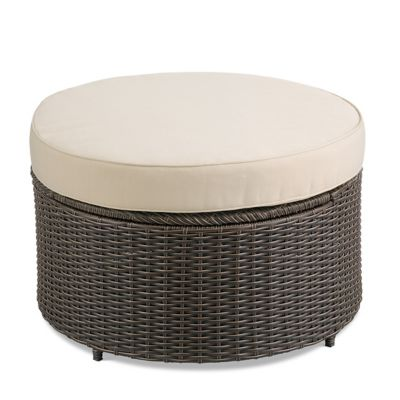 Marbella Round Ottoman Storage Table