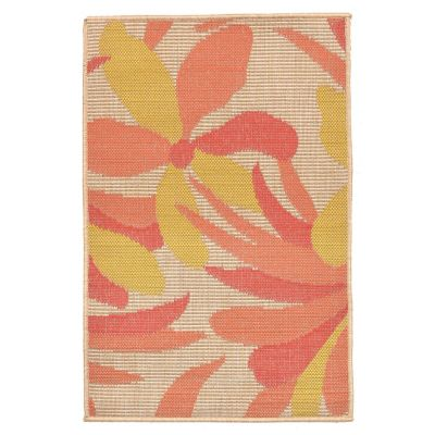 All Over Flowers Outdoor Rug