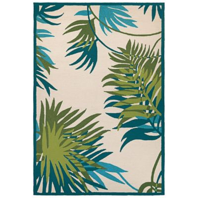 Jungle Leaves Outdoor Rug