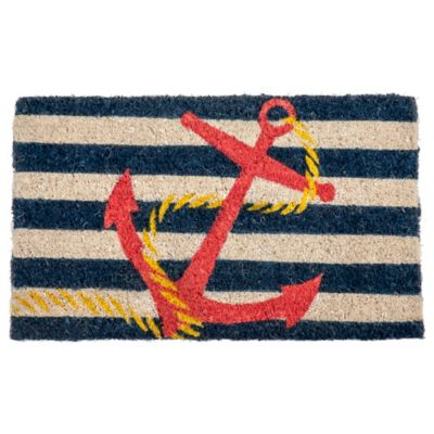 "Anchor Coir Door Mat-18"" x 30"""