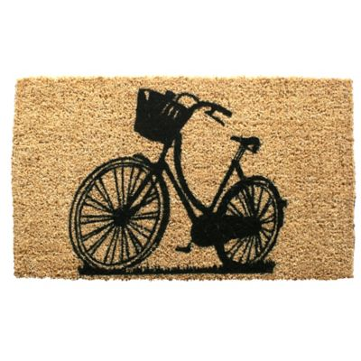 "Bike Coir Door Mat-18"" x 30"""