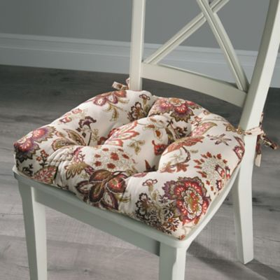 Paisley Tufted Chair Pad