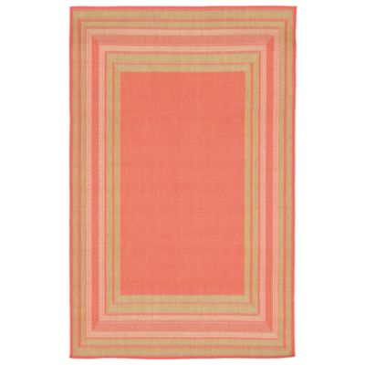 Beveled Border Outdoor Rugs