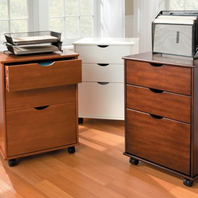 Wellesley 2 Drawer Storage Cart with File
