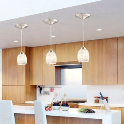 Oyster Glass Instant Pendant Light