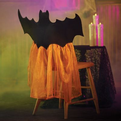 Halloween Bat Chair Cover