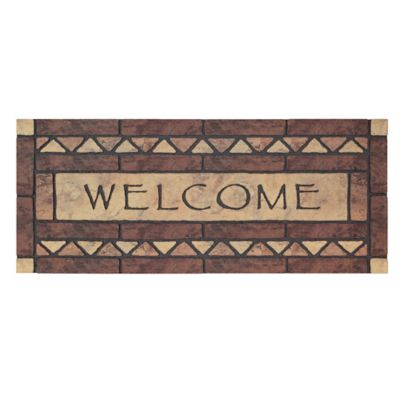 Celtic Rock Estate Outdoor Rubber Door Mat