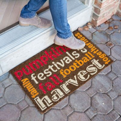 Autumn Spirit Coir Door Mat