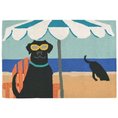 Dig in the Beach Outdoor Rugs