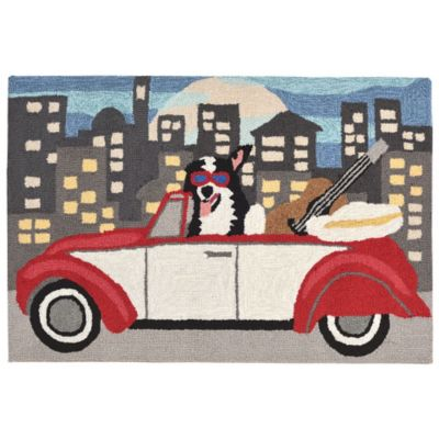 City Dog Outdoor Rugs