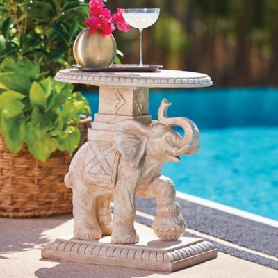 Lahari Elephant Accent Table