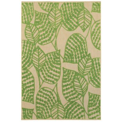 Costa Garden Leaf Outdoor Rugs