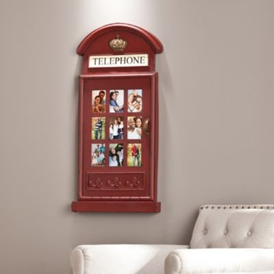 Edmund Phone Booth Hanging Picture Frame