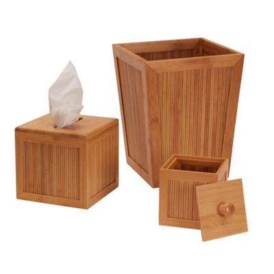 Essential Bamboo Accessories-Set of 3