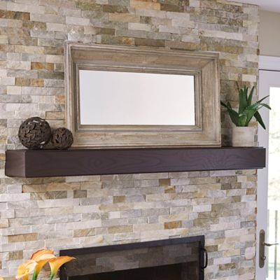 Deep Set Wood Wall Mirror