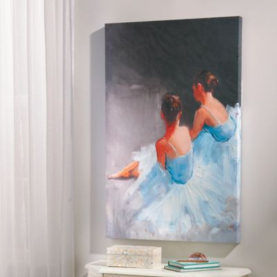 Dance with Me Canvas Wall Art