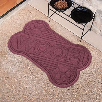 "Water Guard Woof Bone Dog Mat-18"" x 28"""