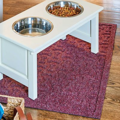 Water Guard Scattered Paws Dog Mat
