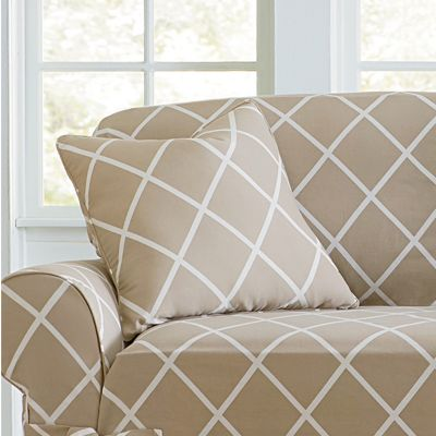 Lattice Throw Pillow