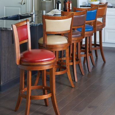Barcelona Swivel Bar Stool with Back