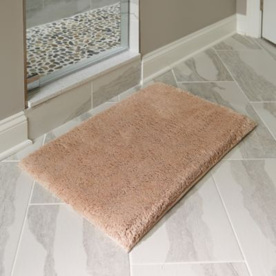 "Plush Memory Foam Bath Mat-32""x20"""