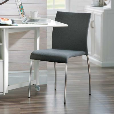 Conrad Upholstered Stackable Chair-Set of 2