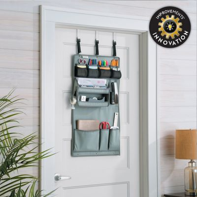 13-Pocket Office/Craft Supplies Over-the-Door Organizer