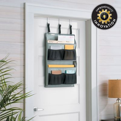 6-Pocket Office/Craft Supplies Over-the-Door Organizer