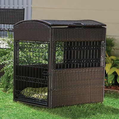 Bailey Pet Crate with Storage