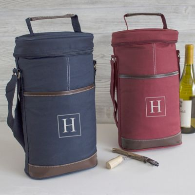 Personalized Wine Bottle Cooler
