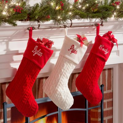 Christmas Stocking Holder Rod